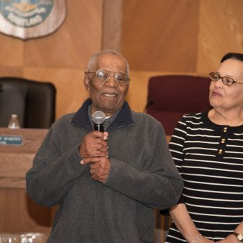 Tevis Leroy Sylvester Hoke Celebrates 100th Birthday (3 Of 5)